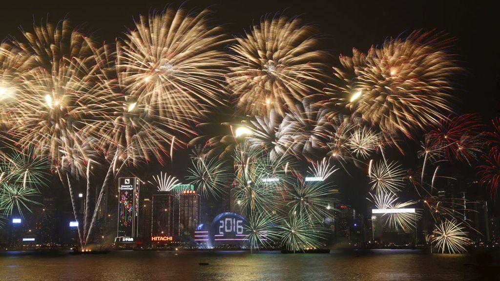 China da la bienvenida al nuevo año