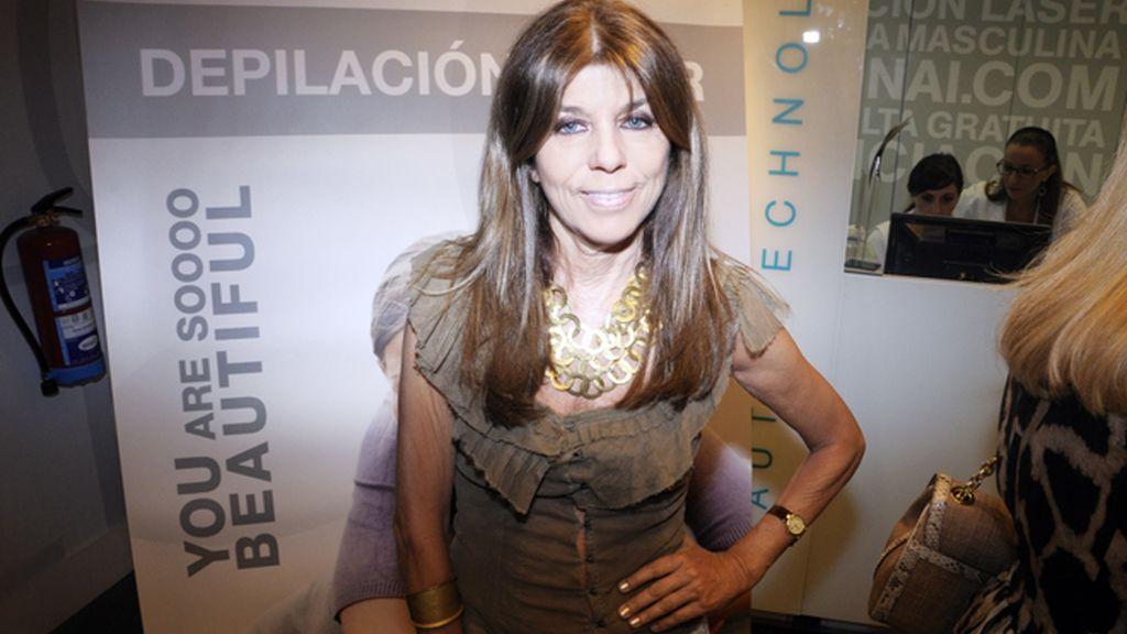 Carmen Lomana, musa del Orgullo Gay