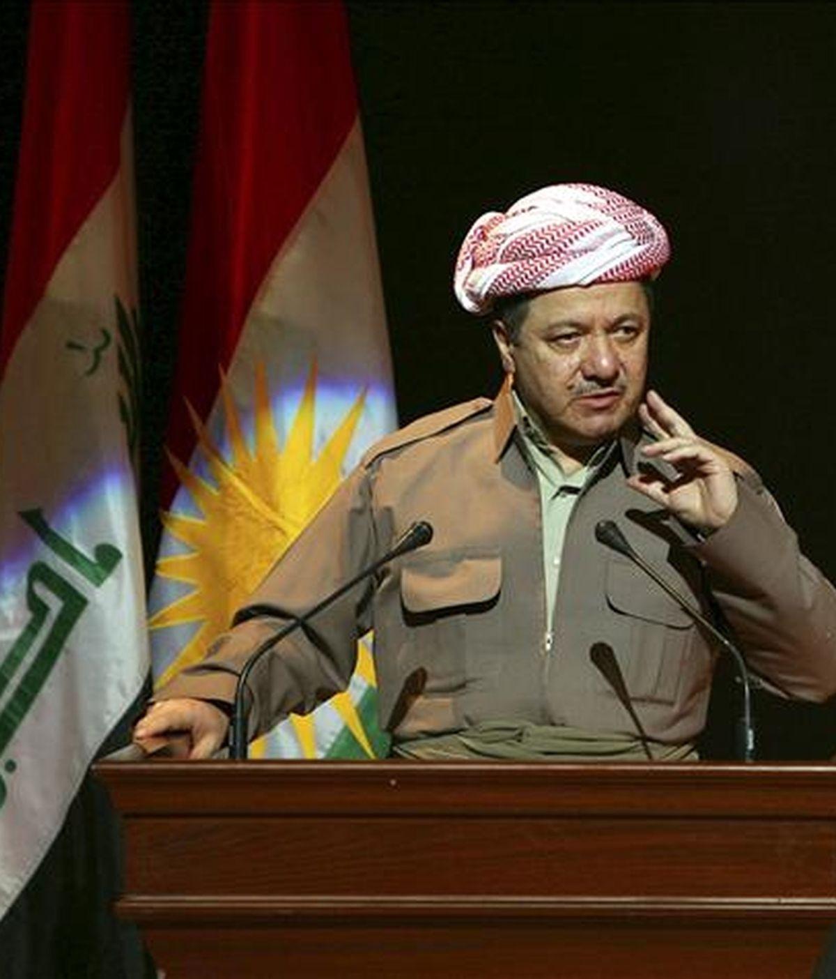 El presidente del Kurdistán iraquí, Masud Barzani. EFE/Archivo