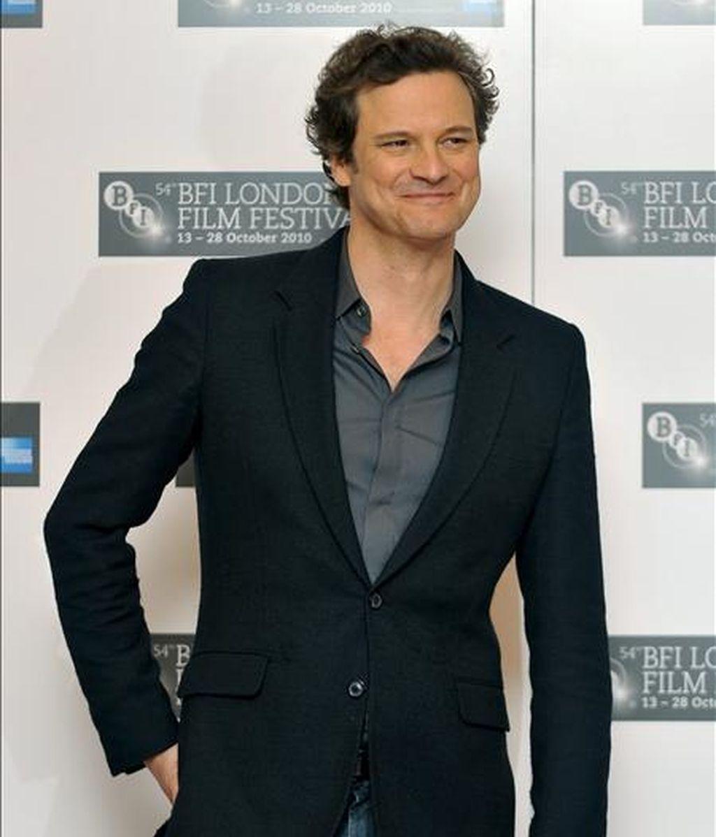 El actor Colin Firth. EFE/Archivo