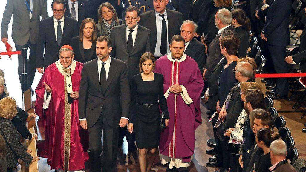Funeral en Barcelona por las víctimas del avión de Germanwings
