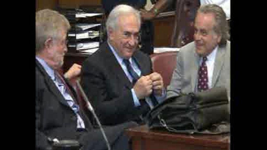 "Strauss-Kahn se declara ""no culpable"""