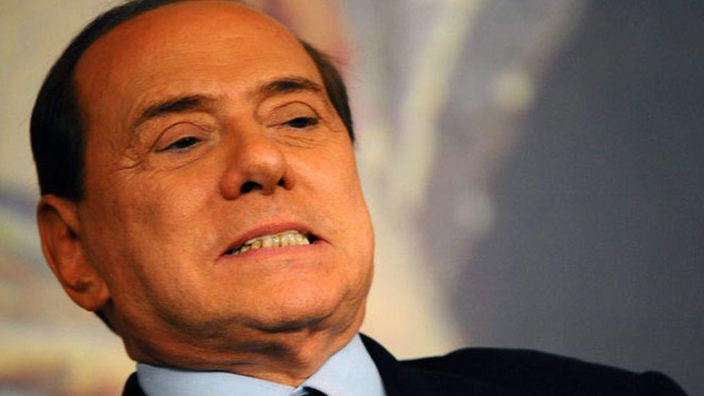 El primer ministro italiano Silvio Berlusconi.