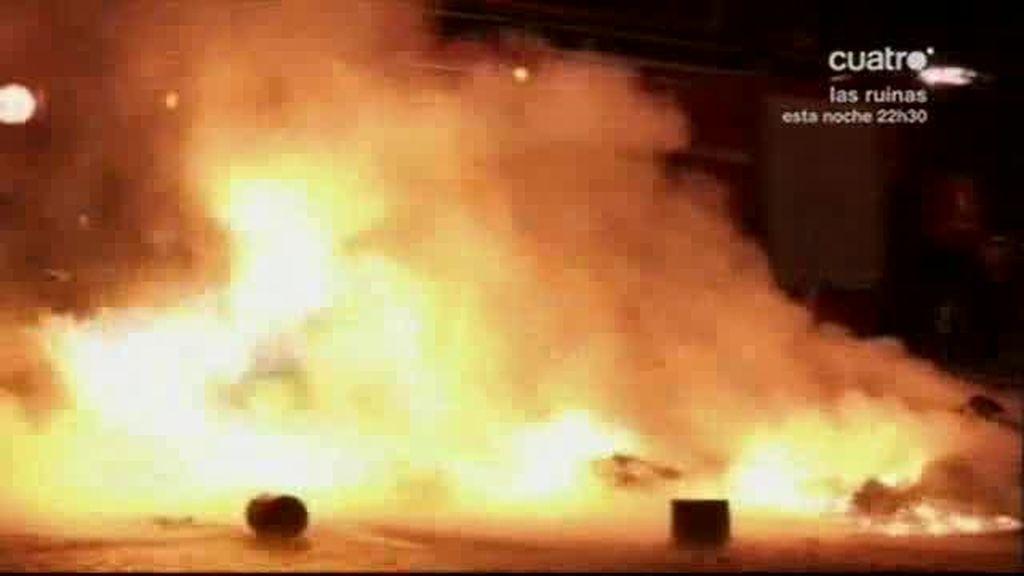 La afición de River quemó Buenos Aires
