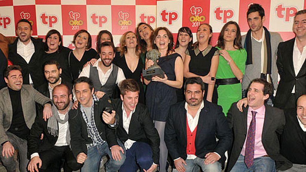 ¡Somos Callejeros!, gritó el equipo al recoger el premio que otorgan los lectores de la revista TP