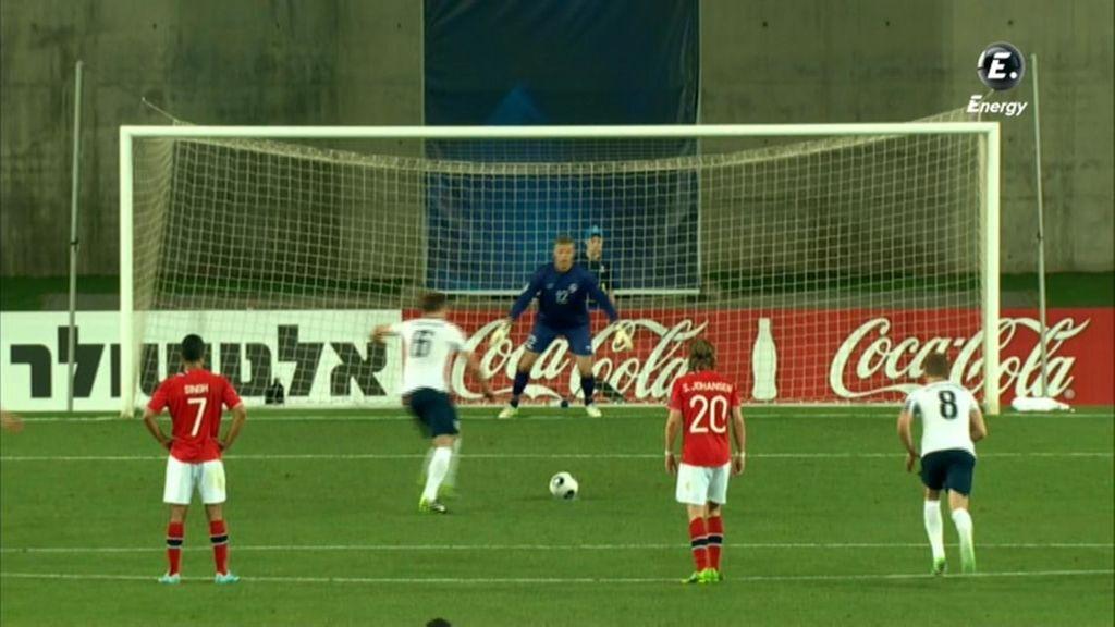 Dawson anotó de penalti el 1-3
