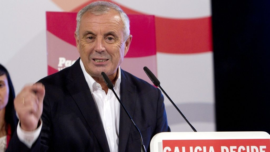 Pachi Vázquez, candidato socialista a la Xunta. Foto: EFE