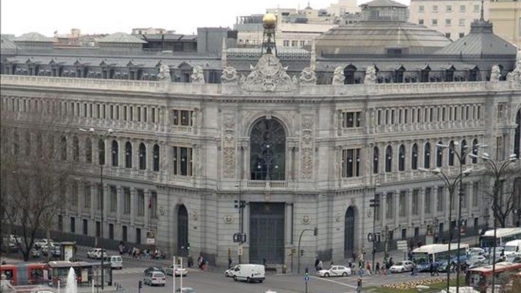 La sede del Banco de España en Madrid. EFE/Archivo