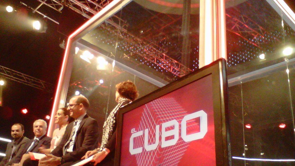 La divertida presentación de 'El Cubo'