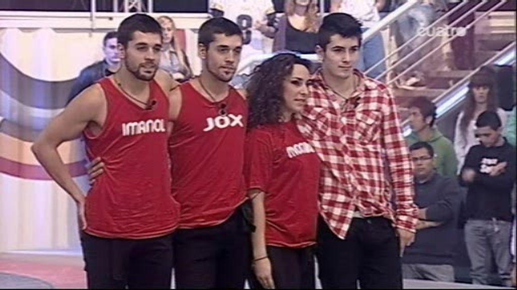 Mónika, Kevin, Imanol y Jox luchan por la salvación