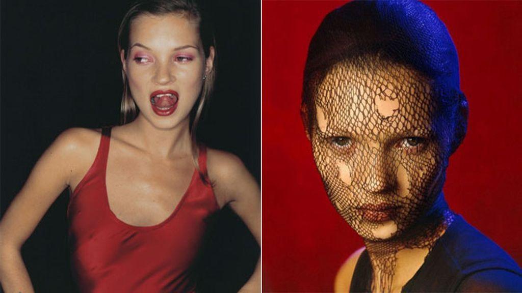 Dos portadas maravillosas de dos ediciones europeas de Vogue, la británica y la alemana, de los años 1994 y 1993 respectivamente