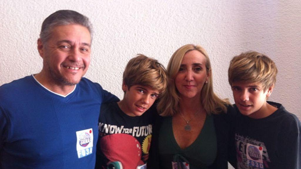 Familias con 'Uno para ganar'