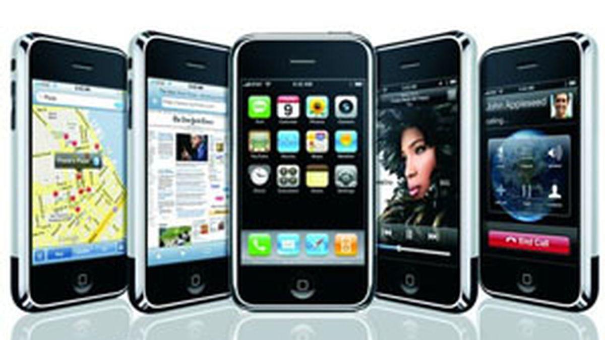 iPhone, lo último en telefonía móvil, ya no está sólo. Foto: Apple
