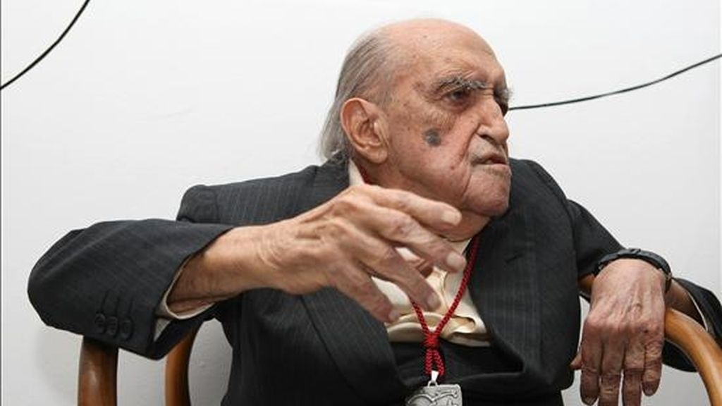 El arquitecto brasileño Oscar Niemeyer. EFE/Archivo