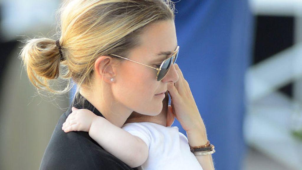 Marta no ha participado este año en el concurso para poder cuidar de su hijo