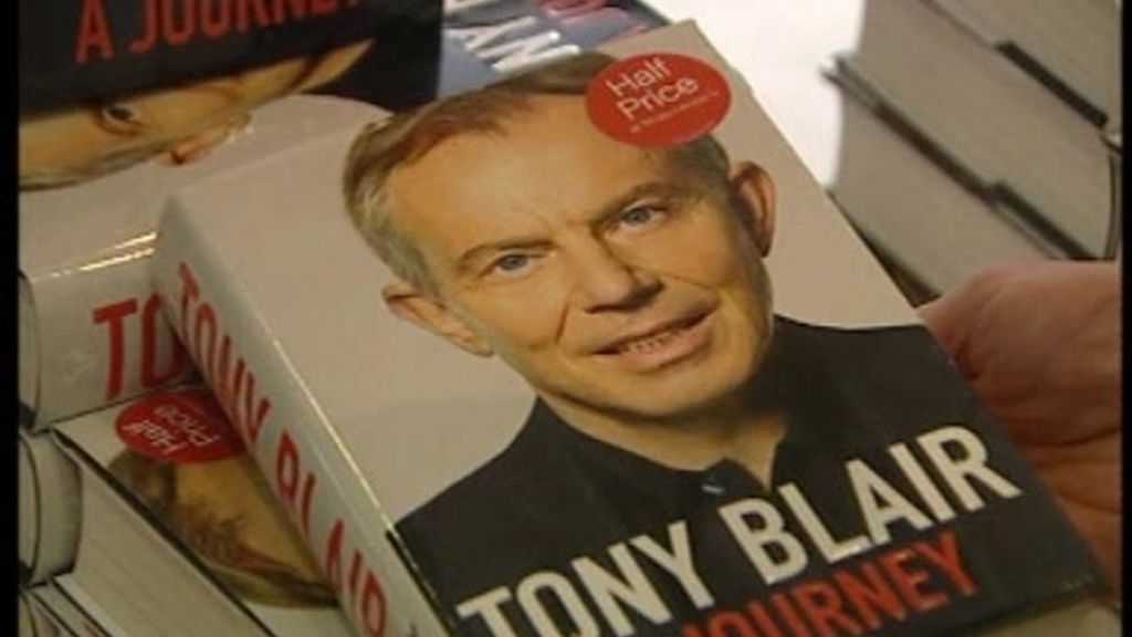Polémicas memorias de Tony Blair