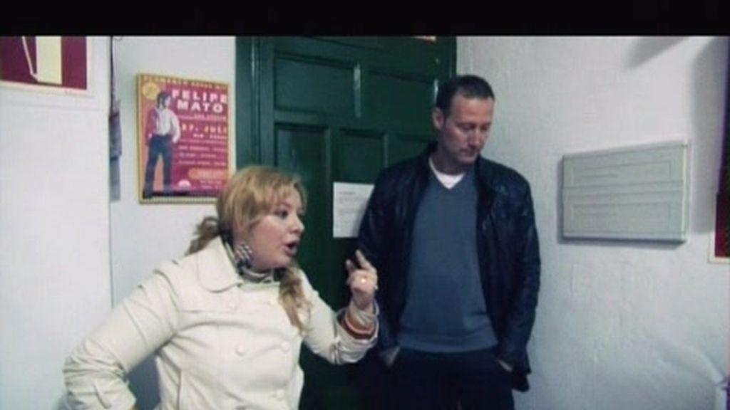 Pedro García Aguado le dice a Judith que tiene que reaccionar