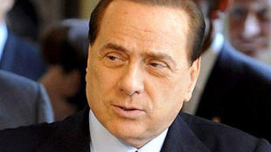 El primer ministro italiano, Silvio Berlusconi, en una imagen de archivo. Foto: EFE