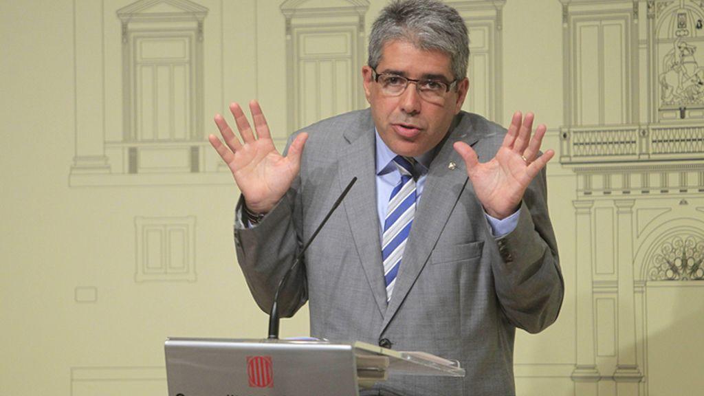 Francesc Homs, portavoz del Gobierno catalán