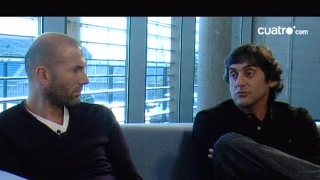 Entrevista con Zinedine Zidane y Enzo Francescoli