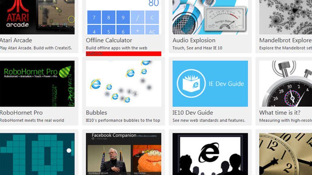 IE10 está disponible para Windows 7 y Windows 8