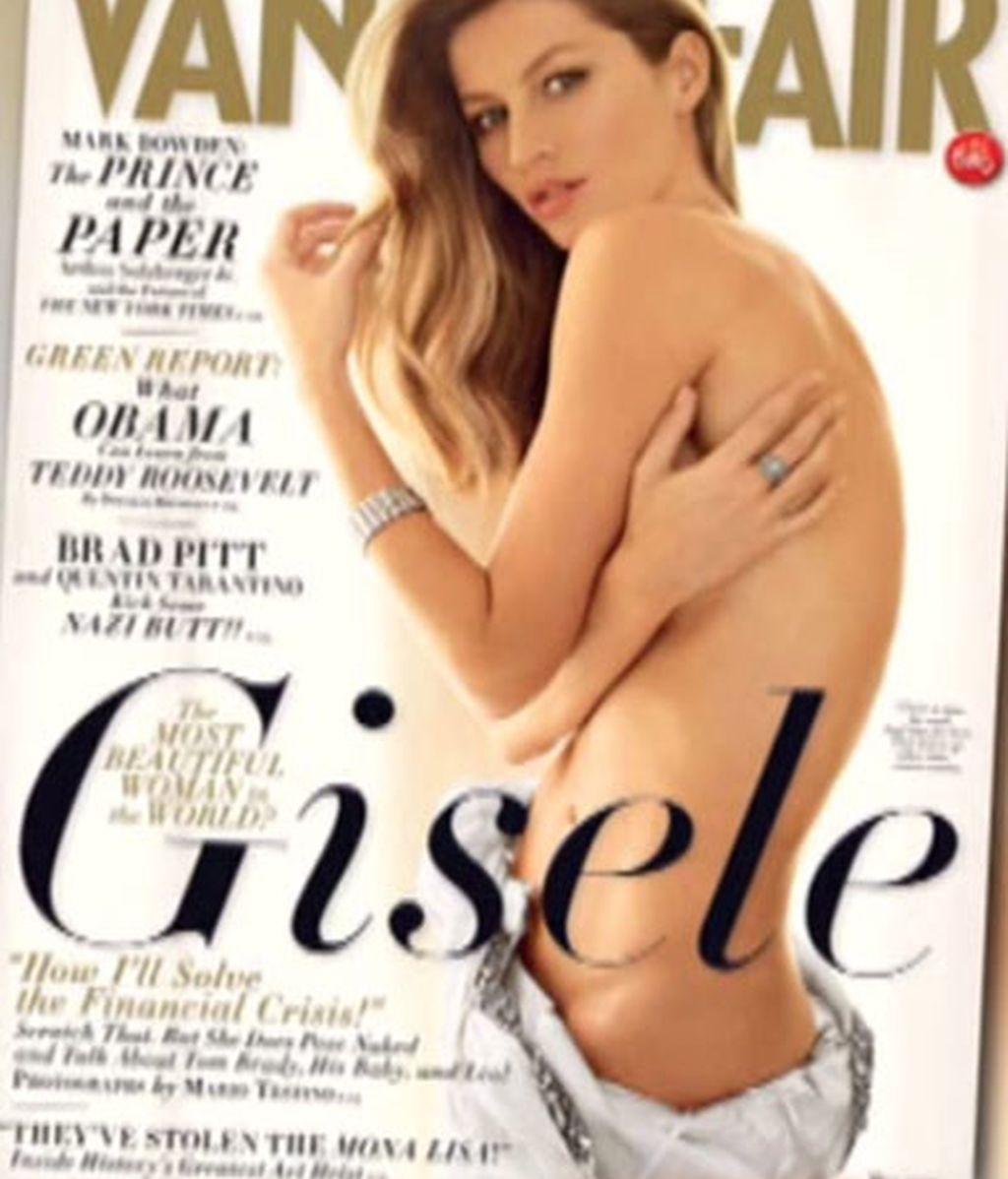 Gisele posa para Vanity Fair