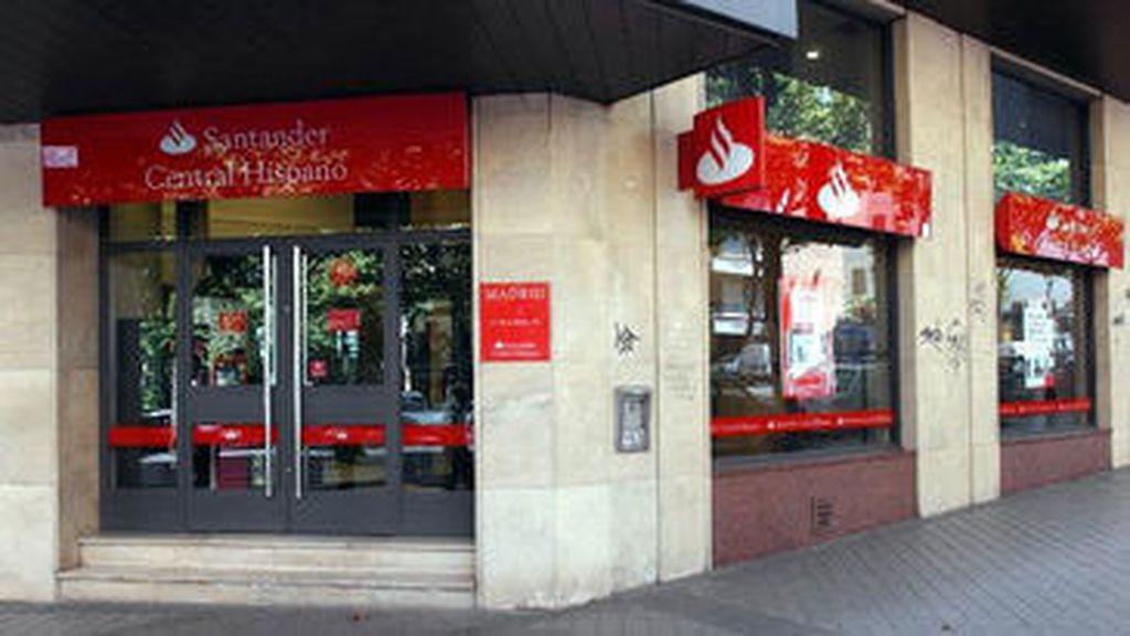 Imagen de archivo de una sucursal del Banco Santander