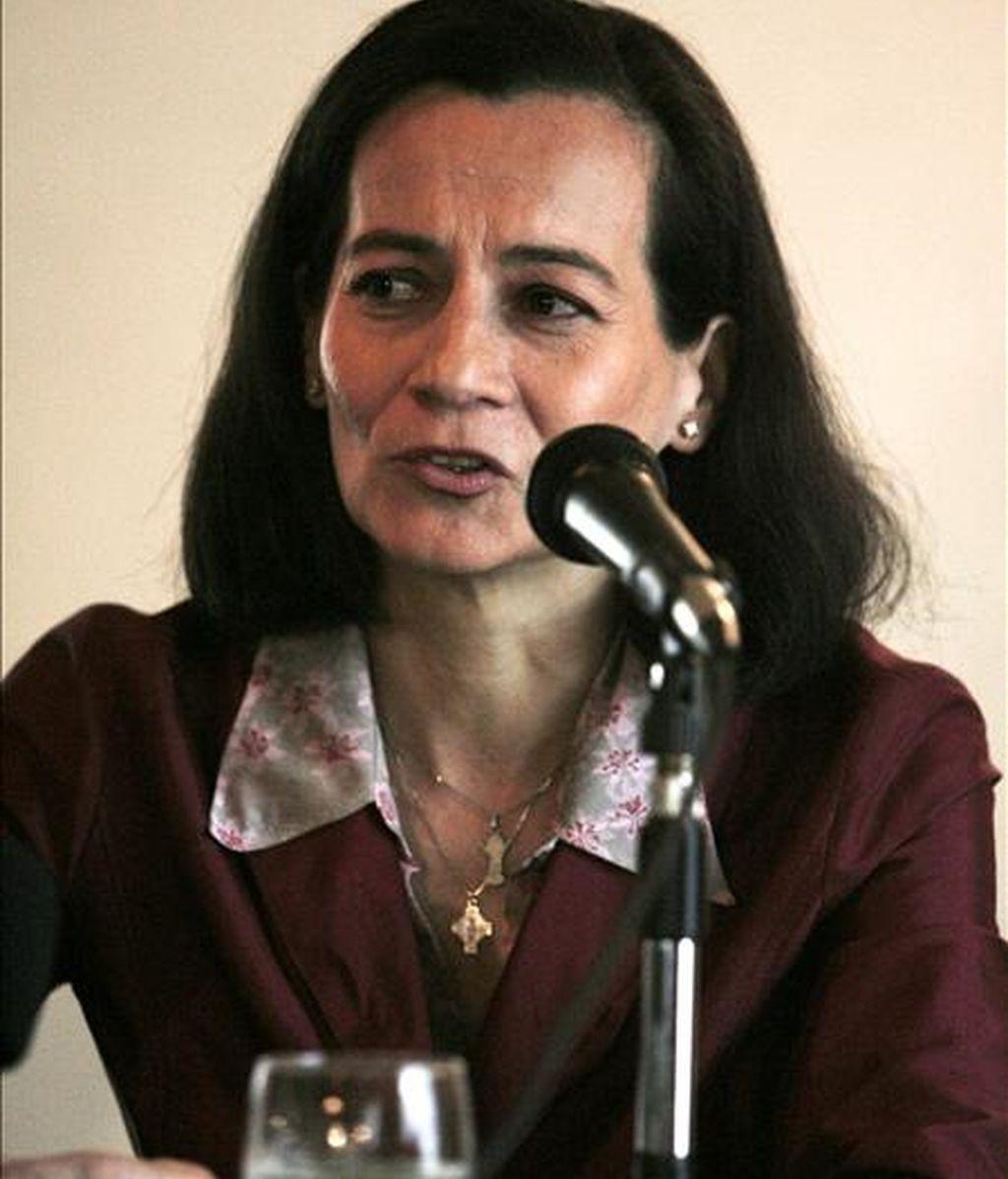 La ex rehén de las FARC Clara Rojas. EFE/Archivo