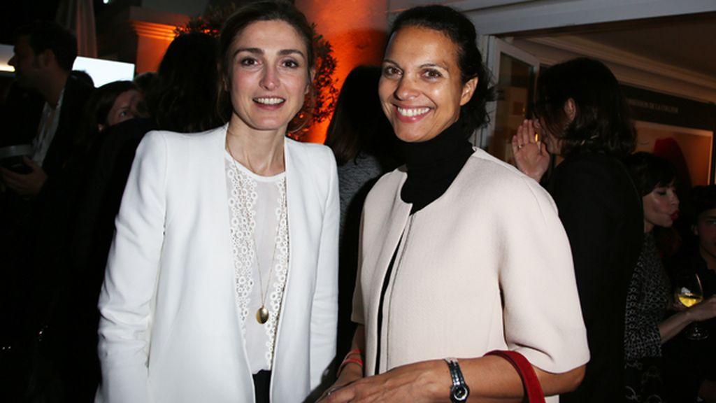 Julie Gayet reaparece en Cannes tras la ruptura con Hollande