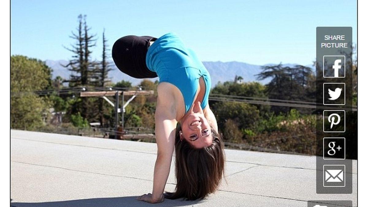 Una niña adoptada descubre que la gimnasta a quien admira es... ¡su hermana!