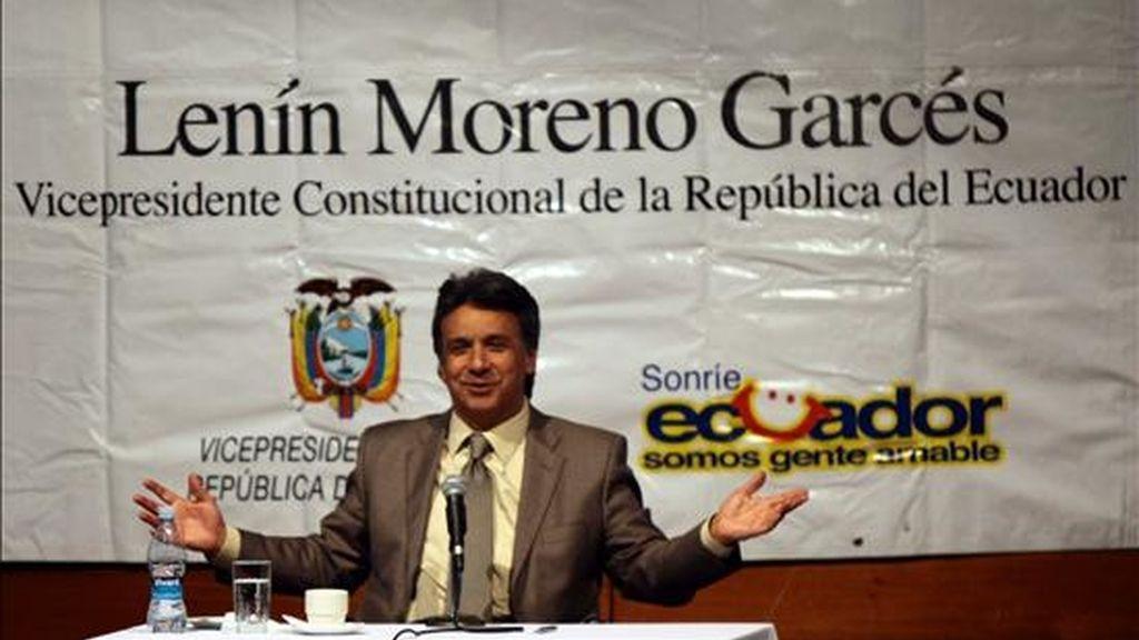 """""""La norma tiene que ser lo más permisiva posible"""" con """"un debate lo más amplio posible, pero creo que el resultante debe ser como gran objetivo nacional la libertad de expresión"""", señaló Moreno."""