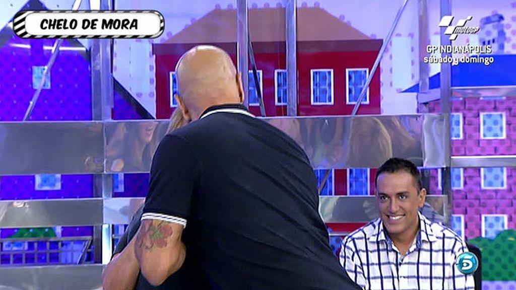 Matamoros y Chelo Gª Cortés recrean el encuentro de Ortega Cano y María de Mora