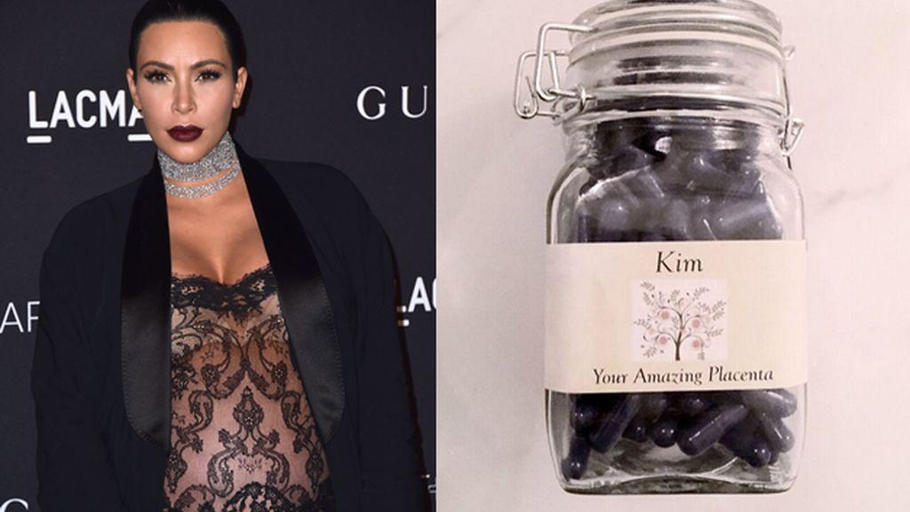 Kardashian y sus píldoras de placenta