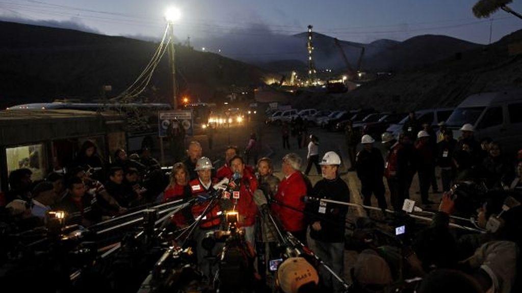 El rescate de los mineros, en imágenes