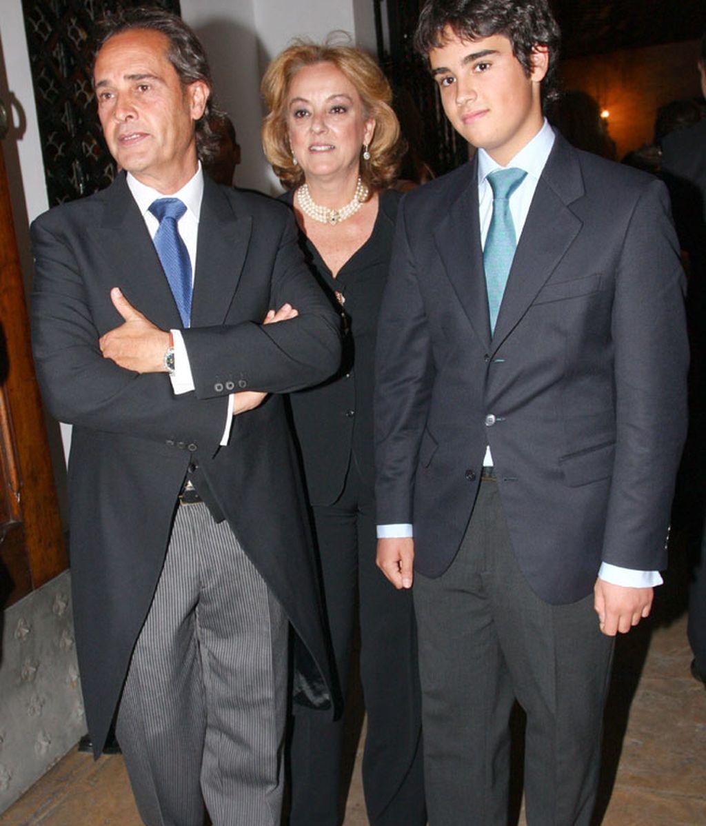 La boda del hijo de Carmen Tello