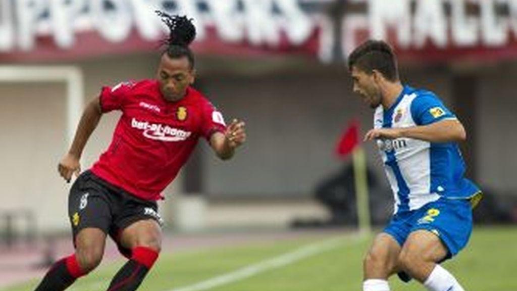 Primera victoria del Mallorca. EFE