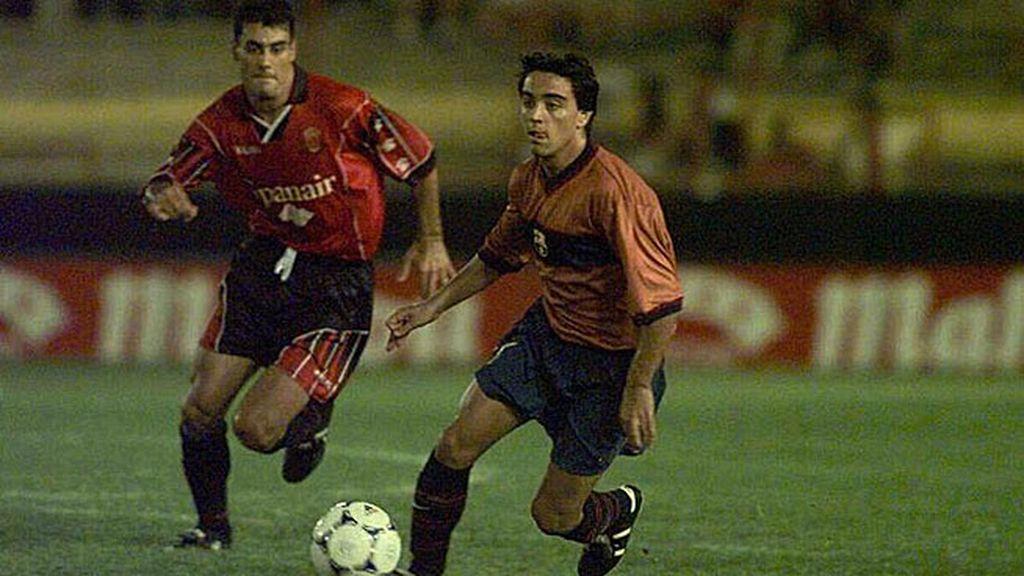 Debutó en el 98 ante el Mallorca con gol incluído