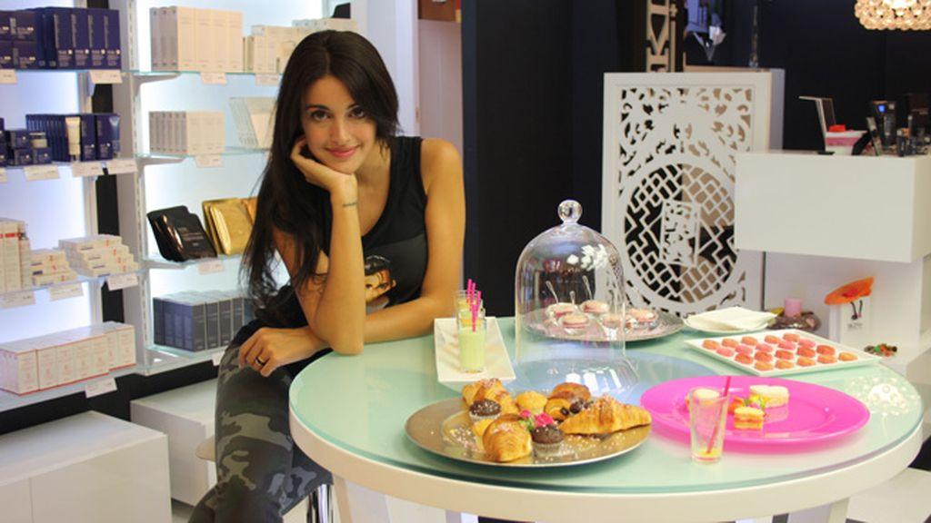 Café, pastas y maquillaje con Noelia López