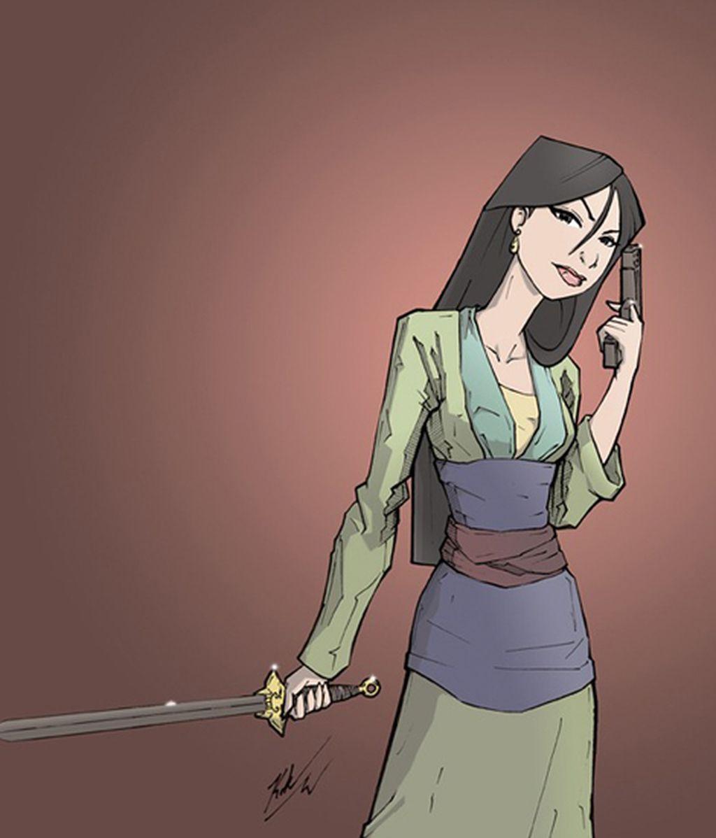 Las princesas Disney se vuelven guerreras