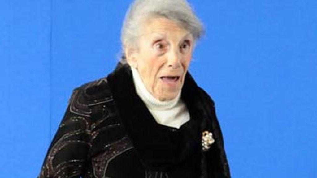 La actriz María Isbert