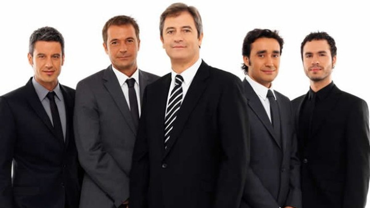 El equipo de 'Los Manolos'