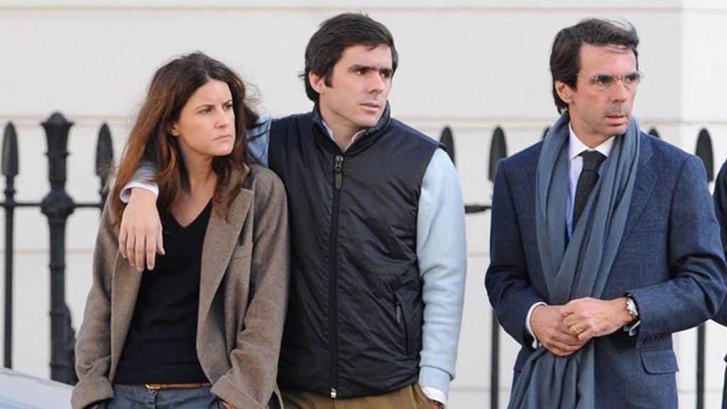 El clan Aznar, en imágenes