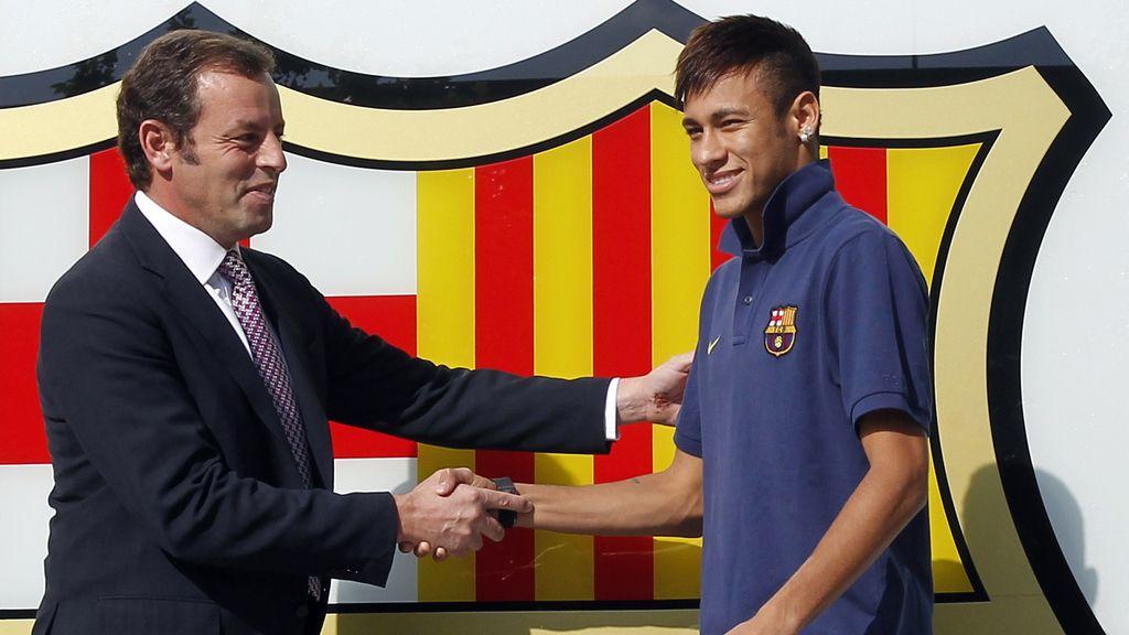 Rosell podría declarar como imputado y Neymar como testigo por 'distraer' 40 millones
