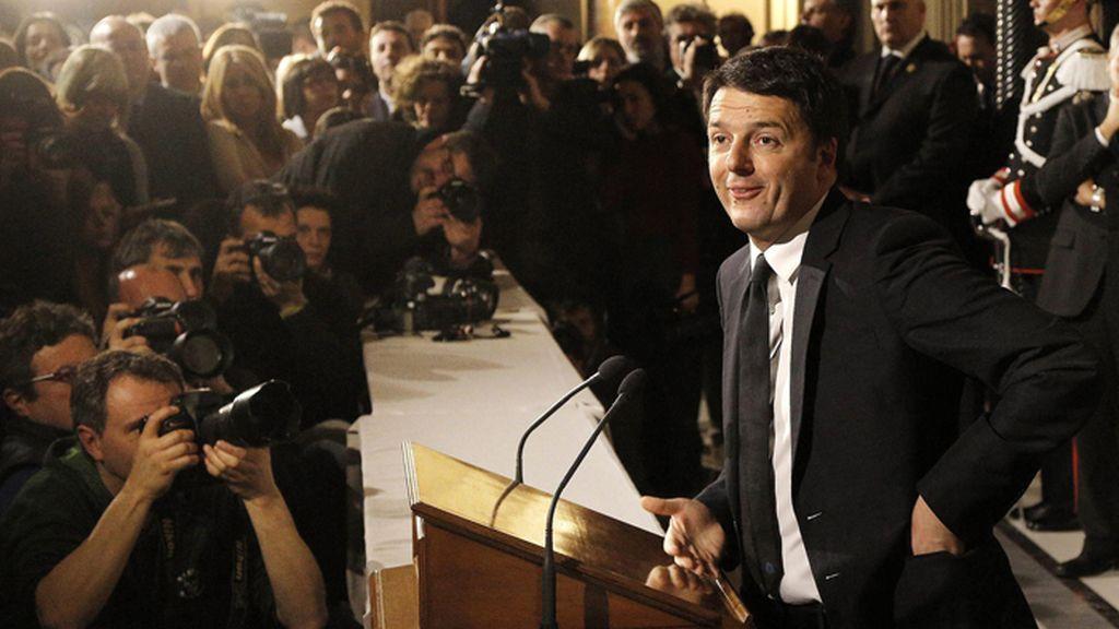 El prime ministro italiano presenta su nuevo gobierno