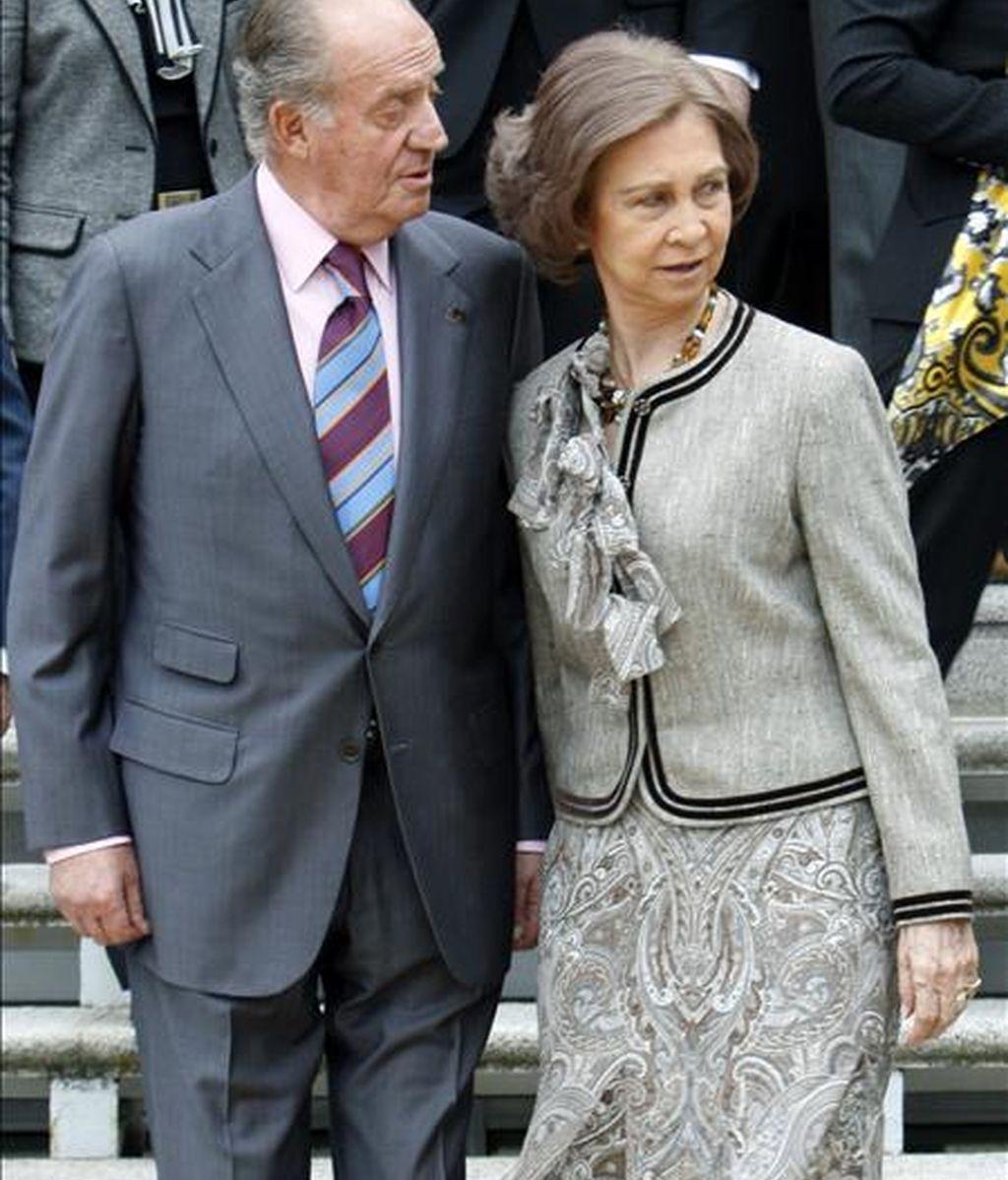 Los Reyes Don Juan Carlos y Doña Sofía. EFE/Archivo