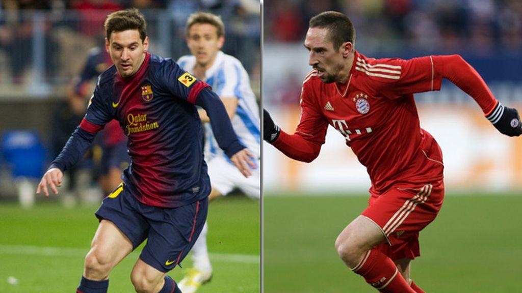Messi - Ribery