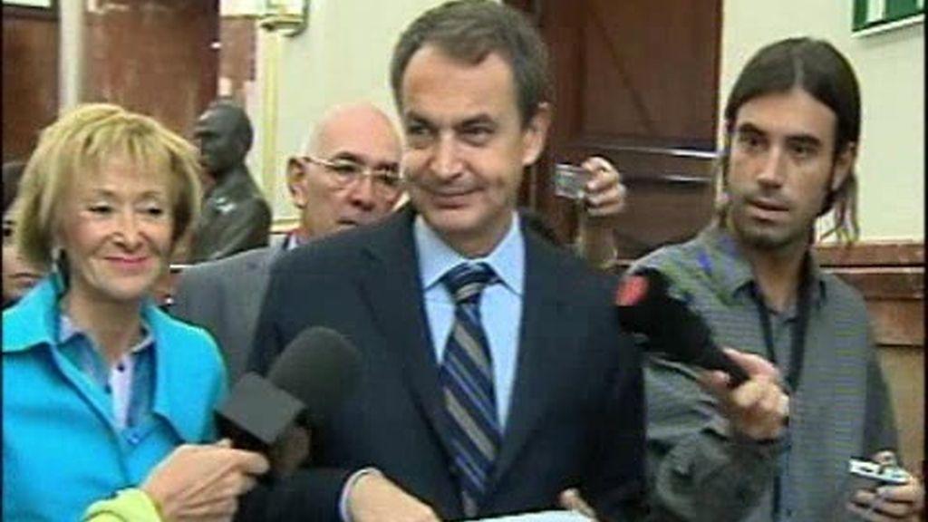 """Zapatero: """"Voy a trabajar"""""""