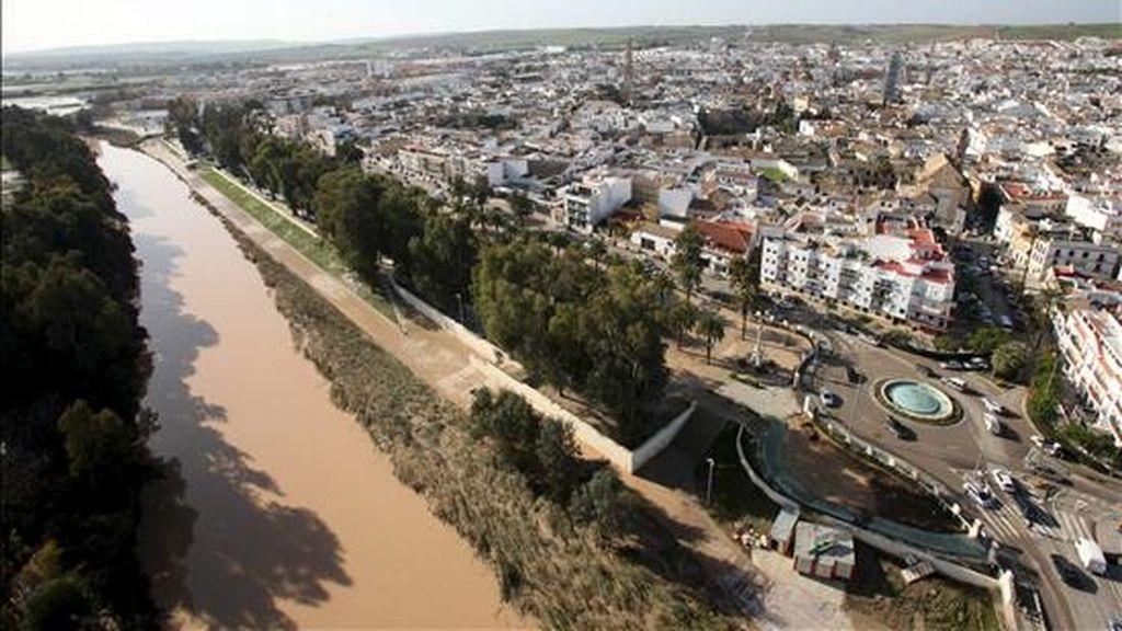 El Guadalquivir a su paso por la localidad sevillana de Écija. EFE/Archivo