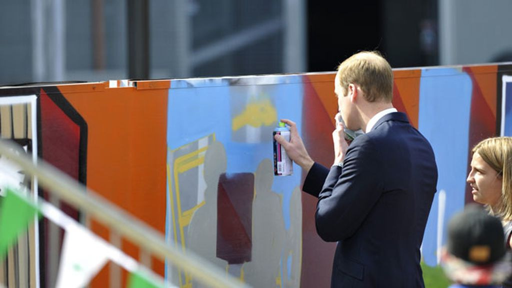 Los Duques de Cambridge se divierten en Australia
