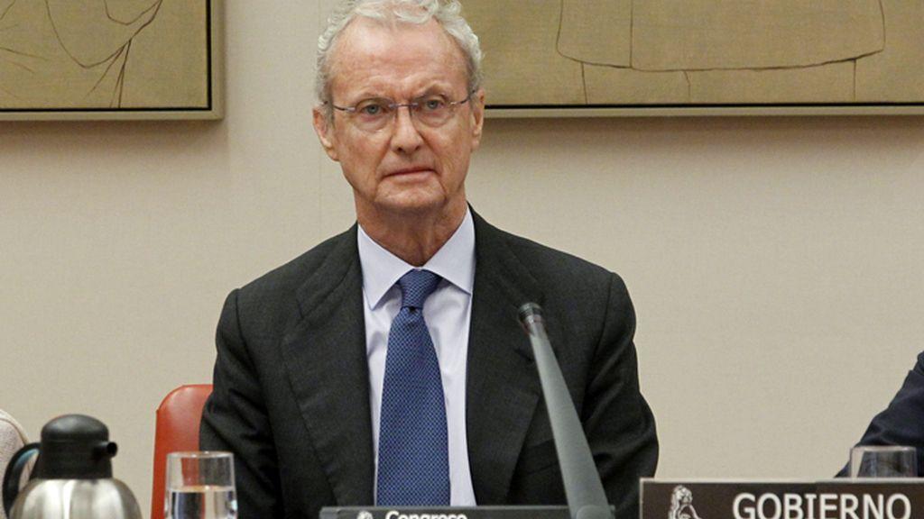 Pedro Morenés comparece ante la comisión de Defensa del Congreso de los Diputados